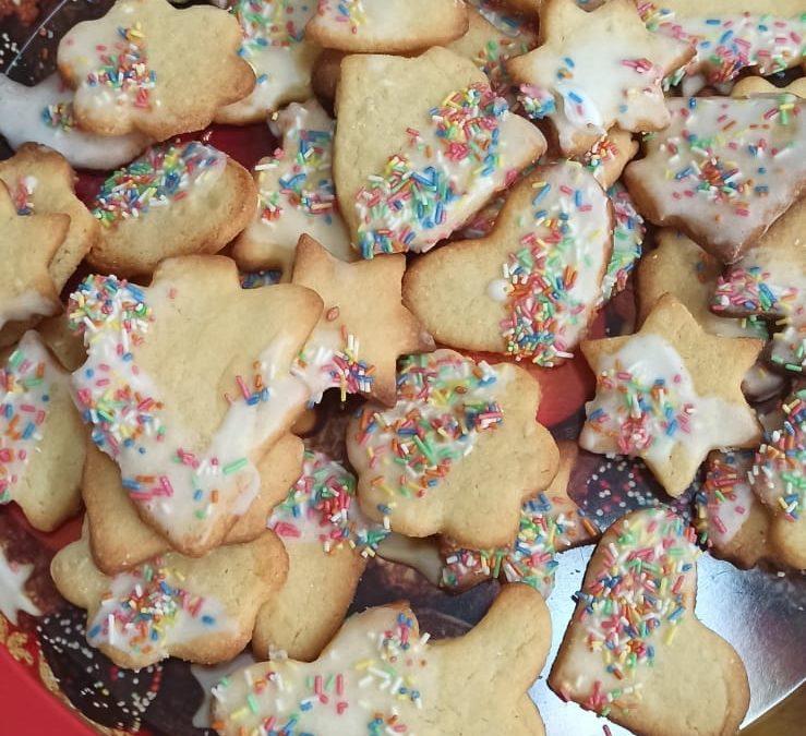 In der Weihnachtsbäckerei heißt es dieses Jahr: Gesund bleiben!